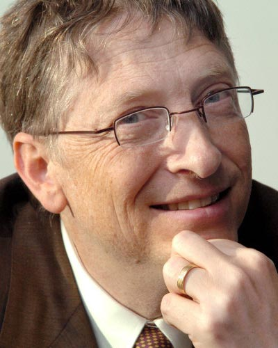 Bill Gates In The Ranks Of 40